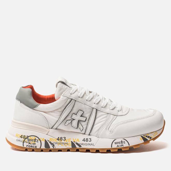 Мужские кроссовки Premiata Lander 3755 White