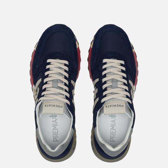 Мужские кроссовки Premiata Lander 3756 Navy