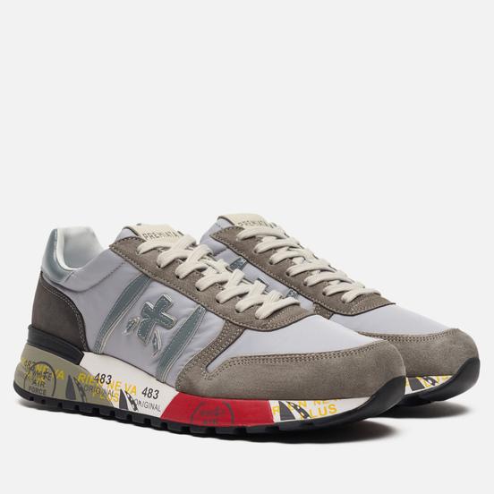 Мужские кроссовки Premiata Lander 4561 Grey/Light Brown
