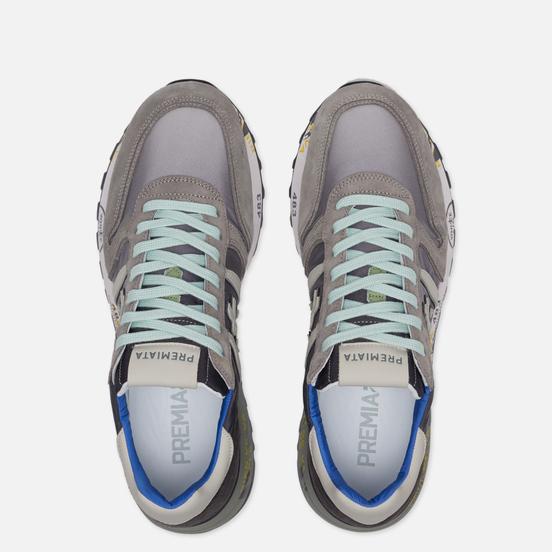Мужские кроссовки Premiata Lander 4586 Grey