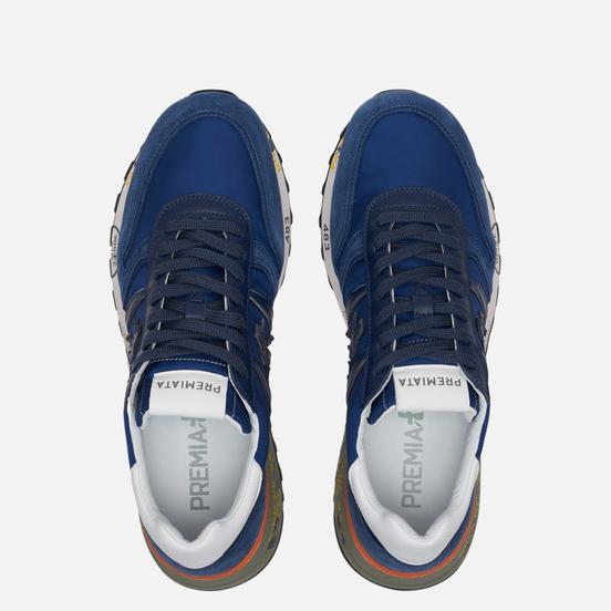 Мужские кроссовки Premiata Lander 4592 Navy