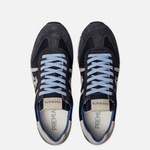 Мужские кроссовки Premiata Lucy 1298E Dark Navy/Blue фото- 1