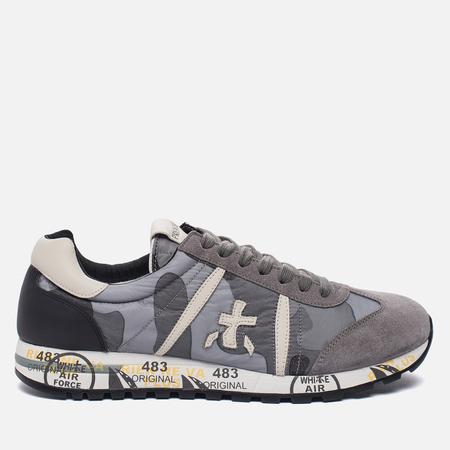 Мужские кроссовки Premiata Lucy 2031 Grey Camouflage