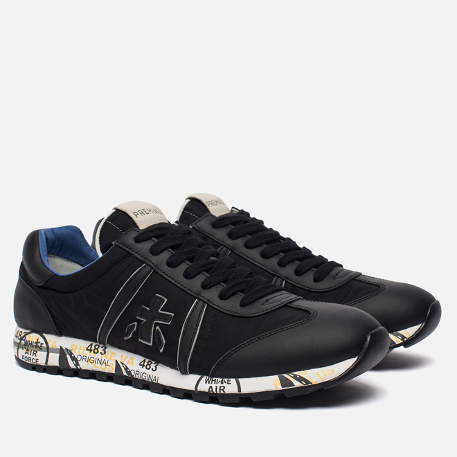 Мужские кроссовки Premiata Lucy 2626 Black