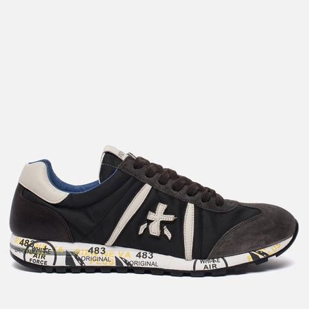 Мужские кроссовки Premiata Lucy 2631 Black