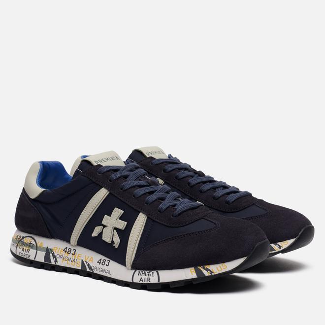 Мужские кроссовки Premiata Lucy 2808 Dark Blue