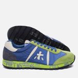 Мужские кроссовки Premiata Lucy 919E Lime/Blue/Dark Grey фото- 2