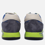 Мужские кроссовки Premiata Lucy 919E Lime/Blue/Dark Grey фото- 3