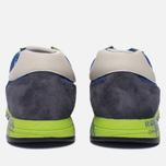 Мужские кроссовки Premiata Lucy 919E Lime/Blue/Dark Grey фото- 3
