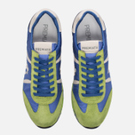 Мужские кроссовки Premiata Lucy 919E Lime/Blue/Dark Grey фото- 4