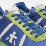 Мужские кроссовки Premiata Lucy 919E Lime/Blue/Dark Grey фото- 5