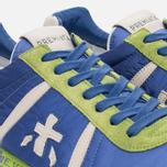 Мужские кроссовки Premiata Lucy 919E Lime/Blue/Dark Grey фото- 5