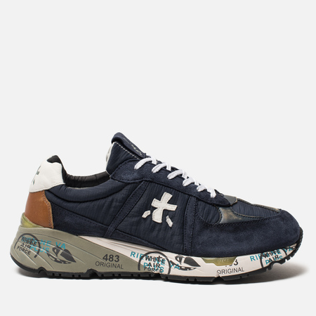 Мужские кроссовки Premiata Mase 3556 Blue