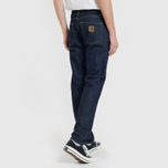 Мужские джинсы Carhartt WIP Klondike 12 Oz Blue Rinsed фото- 6