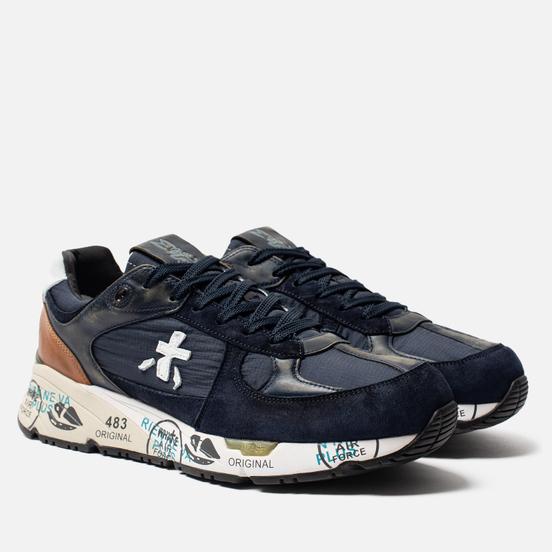 Мужские кроссовки Premiata Mase 3927 Navy