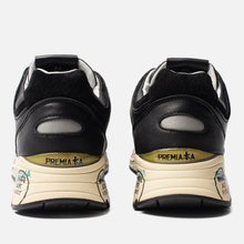 Мужские кроссовки Premiata Mase 4145 Black фото- 3