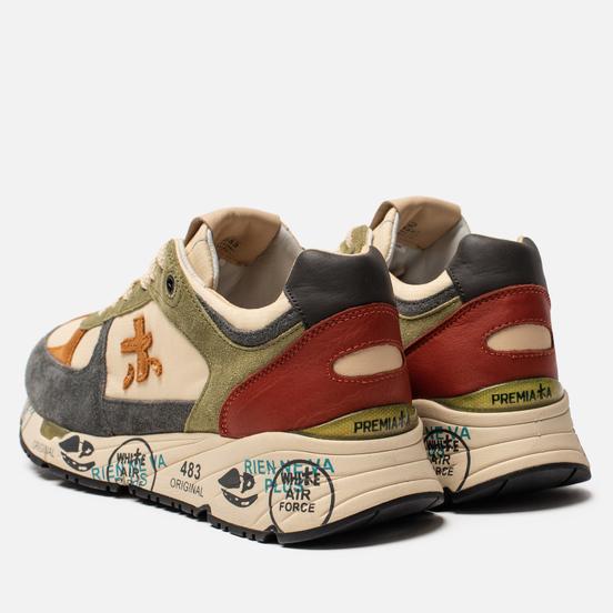 Мужские кроссовки Premiata Mase 4553 Multicolor