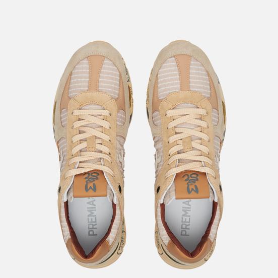 Мужские кроссовки Premiata Mase 4554 Beige