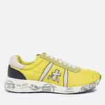 Мужские кроссовки Premiata Mattew 1494E Yellow/White фото- 0