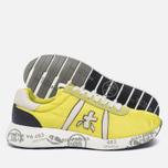 Мужские кроссовки Premiata Mattew 1494E Yellow/White фото- 2