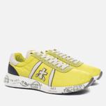 Мужские кроссовки Premiata Mattew 1494E Yellow/White фото- 1