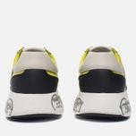Мужские кроссовки Premiata Mattew 1494E Yellow/White фото- 3