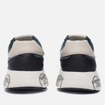 Мужские кроссовки Premiata Mattew 1497E Blue/White фото- 3