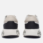 Мужские кроссовки Premiata Mattew 1498E White фото- 3