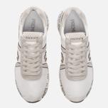 Мужские кроссовки Premiata Mattew 1498E White фото- 4
