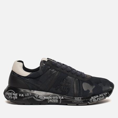 Мужские кроссовки Premiata Mattew 2414 Navy Camo/Black