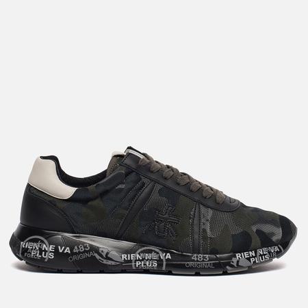 Мужские кроссовки Premiata Mattew 2415 Dark Camo/Black