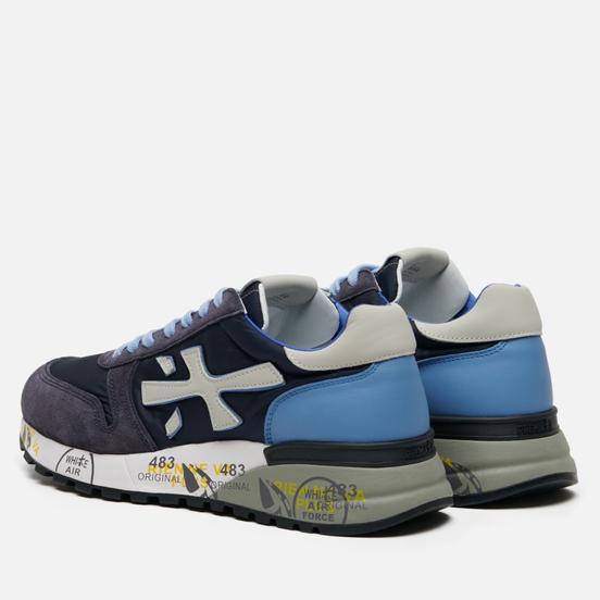 Мужские кроссовки Premiata Mick 1280E Dark Navy/Blue