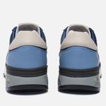 Мужские кроссовки Premiata Mick 1280E Dark Navy/Blue фото- 3