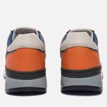 Мужские кроссовки Premiata Mick 1281E Red/Grey/Orange фото- 3