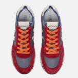 Мужские кроссовки Premiata Mick 1281E Red/Grey/Orange фото- 4