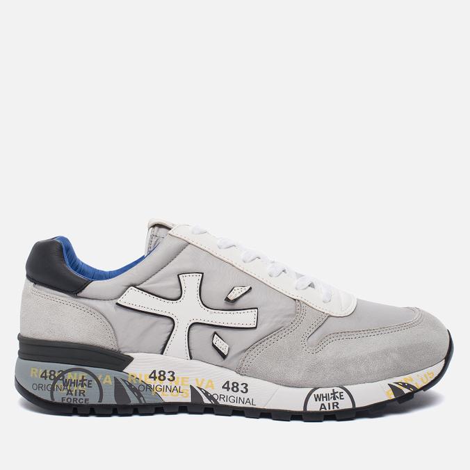 Мужские кроссовки Premiata Mick 1430E Grey