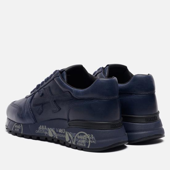 Мужские кроссовки Premiata Mick 1807 Dark Navy