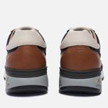Мужские кроссовки Premiata Mick 1980 Dark Blue/Brown фото- 3