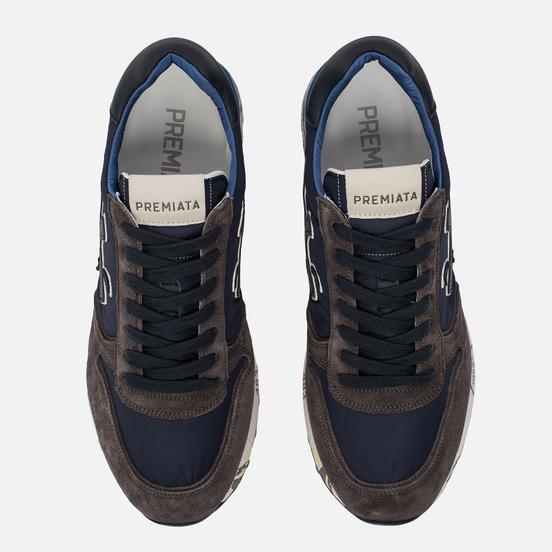 Мужские кроссовки Premiata Mick 2341 Blue/Grey