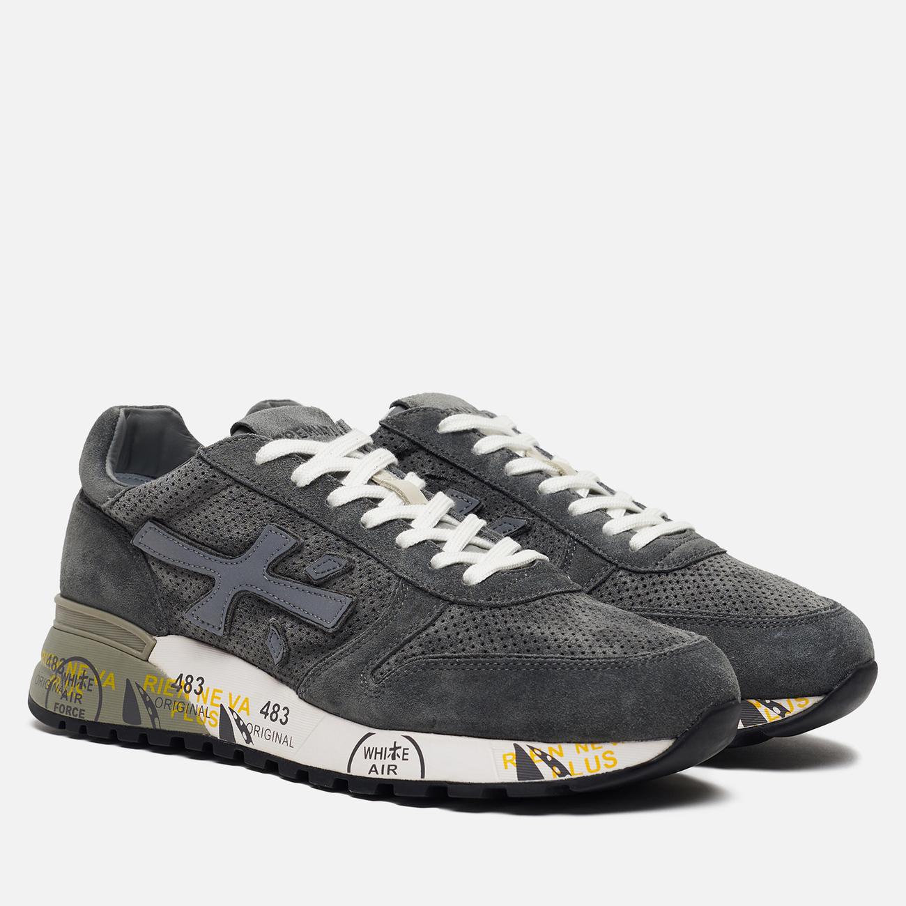 Мужские кроссовки Premiata Mick 3821 Grey