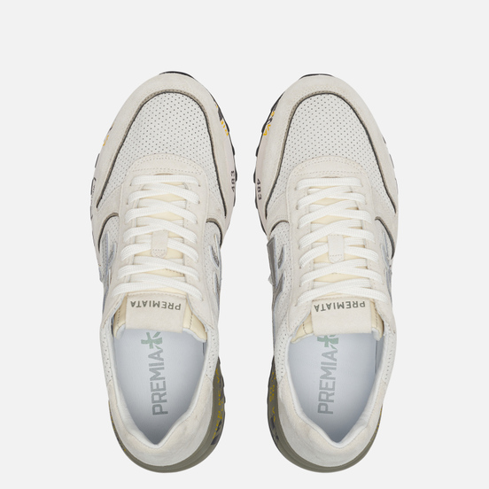 Мужские кроссовки Premiata Mick 3829 White