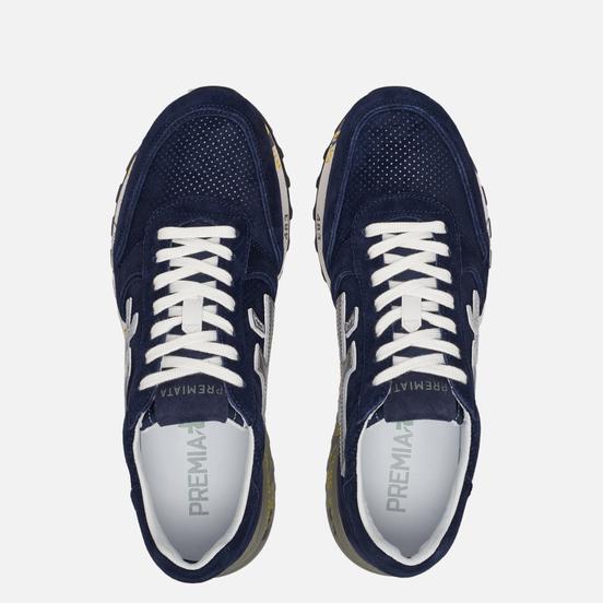Мужские кроссовки Premiata Mick 3830 Navy