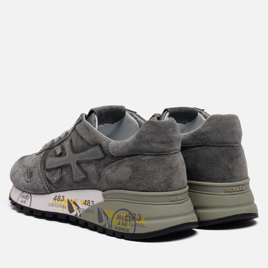 Мужские кроссовки Premiata Mick 4017 Grey