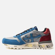 Мужские кроссовки Premiata Mick 4018 Blue/Grey/Red фото- 1