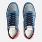 Мужские кроссовки Premiata Mick 4018 Blue/Grey/Red фото - 1