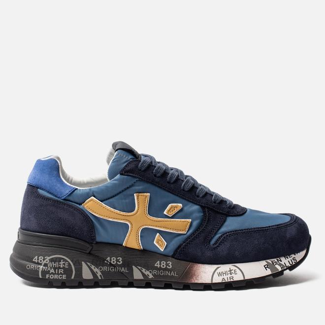 Мужские кроссовки Premiata Mick 4056 Blue/Navy