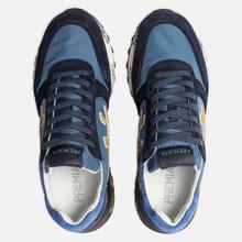 Мужские кроссовки Premiata Mick 4056 Blue/Navy фото- 1