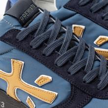 Мужские кроссовки Premiata Mick 4056 Blue/Navy фото- 6