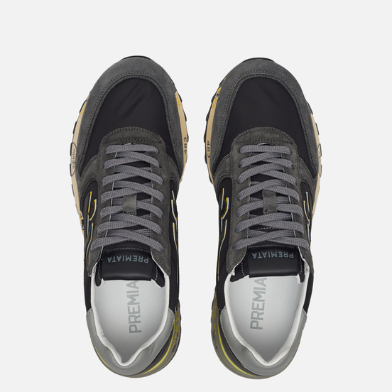 Мужские кроссовки Premiata Mick 4059 Black
