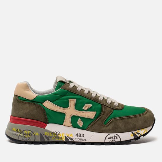 Мужские кроссовки Premiata Mick 4565 Olive/Green